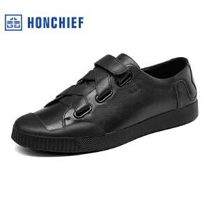 红蜻蜓旗下品牌  HONCHIEF  男鞋休闲鞋秋冬鞋子男板鞋KTA7227