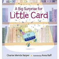 【预订】A Big Surprise for Little Card 9780763674854