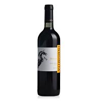 【抢50元无门槛券】智利原瓶进口 智利格狮马美乐干红葡萄酒750ml 张裕推荐 单瓶