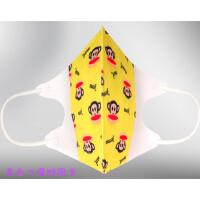 儿童春夏宝宝3D立体活性炭口罩一次性防尘PM2.5雾霾花粉过敏60片