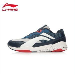 李宁休闲鞋男鞋复古经典运动生活系列耐磨防滑运动鞋ALCL071