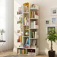简约现代置物架创意学生树形桌面书柜简易落地小书架