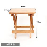 折叠书桌椅实木家用儿童学习桌写字办公桌笔记本小桌DF