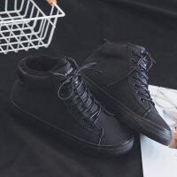 棉鞋女2018新款韩版冬季百搭板鞋加绒平底休闲鞋保暖毛毛鞋二棉鞋