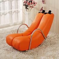 躺椅懒人沙发单人阳台卧室小沙发迷你可爱现代简约创意香蕉逍摇椅