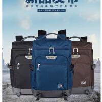 申派男士双肩包 大高中书包韩版潮女旅行背包14/15.6寸商务电脑包 SP-GT-2.0T