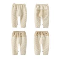 单条儿童秋裤 男童女童秋裤0-1-2岁宝宝婴儿秋裤衬裤线裤秋冬