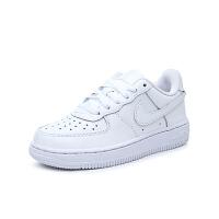 【到手价:299.4元】耐克(Nike)nike force1板鞋小白鞋314193-117白色