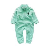婴儿连体衣春装秋季外套 宝宝哈衣长袖爬服新生儿外出服