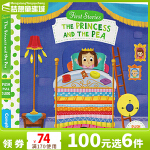 First Stories BUSY系列 童话篇 纸板书 The Princess and the Pea 豌豆公主