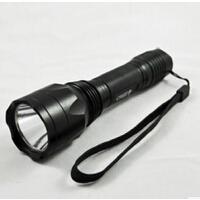 户外led强光手电便携逐步旅行照明手电家用照明灯具
