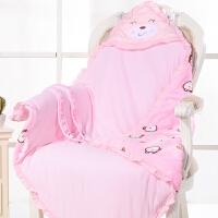秋冬厚款抱被保暖被子包被初生儿用品新生儿抱被春夏薄棉婴儿抱毯