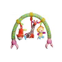 婴儿玩具 新生儿床铃床挂婴儿推车挂件 音乐车夹宝宝安全座椅玩具