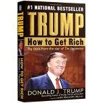 英文原版 Trump How to Get Rich 如何致富 美国总统特朗普 川普 人物传记