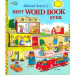 Richard Scarry's Best Word Book Ever (Giant Golden Book) 斯凯瑞金色童书-最好的单词书 ISBN 9780307155108