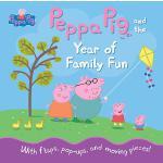 【预订】Peppa Pig and the Year of Family Fun 9780763687397
