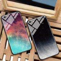 苹果7plus手机壳ins冷淡风iphone6splus玻璃壳苹果8情侣潮8plus男女款i7全包iphone6防摔简约