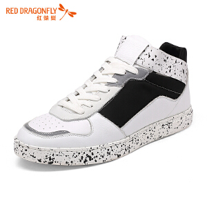红蜻蜓男鞋休闲鞋秋冬鞋子男男靴子WAA6663