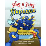 【预订】Sing a Song of Sixpence Big Book 9781493882656