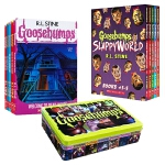【中商原版】鸡皮疙瘩系列小说10册 英文原版 Goosebumps 限量版铁盒装 畅销经典儿童文学