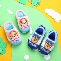 拖鞋女童宝宝1-2岁家居棉拖鞋2-3岁公主室内家用儿童毛拖