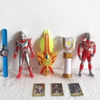 迪加奥特曼变身器神光棒 迪迦奥特曼变身器神光棒玩具套装 迪加召唤器发光棒超人模型变形 +表随机