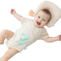 婴儿短袖爬服哈衣婴儿哈衣棉夏季宝宝三角爬服