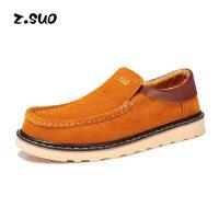 Z.Suo/走索潮流低帮鞋流行男鞋子英伦男士休闲鞋大头鞋工装鞋 男ZS6158C