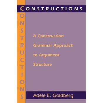 【预订】Constructions: A Construction Grammar Approach to Argument Structure 预订商品,需要1-3个月发货,非质量问题不接受退换货。