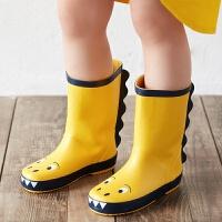 小恐���和�雨鞋男童�p便防滑小孩�胗�����雨靴小童水鞋女童�z鞋