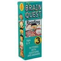 现货 英文原版 Brain Quest Read Grade 3 益智挑战 三年级阅读8-9岁