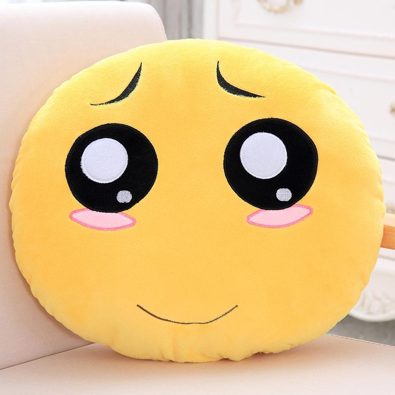 滑稽抱枕可戴头上 搞笑滑稽表情暖手抱枕被子两用枕头毯子学生女孩图片