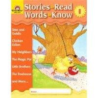 现货 Stories to Read, Words to Know LEVEL I WITH CD