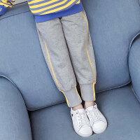 儿童运动裤 女童运动裤2020童装童裤长裤秋季新款女中大童宽松外穿运动休闲裤子