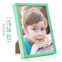 可爱儿童相框创意挂墙7寸金属宝宝5寸相框摆台相架画框