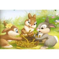 成人1000片木质拼图500儿童玩具卡通动物 班尼兔