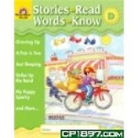 [现货]Stories to Read, Words to Know LEVEL D WITH CD