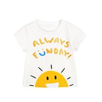 男童t恤1一3岁婴儿童装儿童春装打底衫宝宝夏装