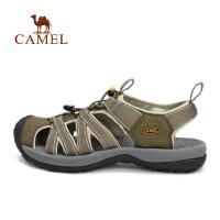 camel骆驼户外男女款沙滩凉鞋 情侣抽拉绳沙滩鞋