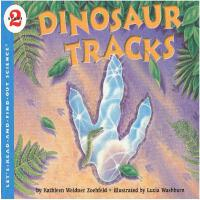 Dinosaur Tracks (Let's Read and Find Out) 自然科学启蒙2:恐龙的脚印ISBN