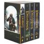 现货 霍比特人3指环王魔戒四本 英文原版 The Hobbit and The Lord of the Rings 进口英文小说 4册盒装英语书籍 套装