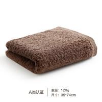 毛巾纯棉加厚全棉洗脸家用吸水男女情侣大毛巾面巾单条装 35x74cm