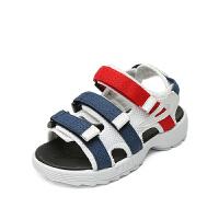 男童凉鞋夏季儿童沙滩鞋中大童软底男孩鞋女童凉鞋