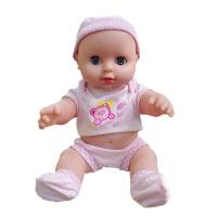 胶皮娃娃玩具 全软胶洗澡软胶仿真婴儿洋娃娃 搪胶皮仿真娃娃 儿童玩具公仔女孩