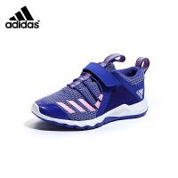 【到手价:349元】阿迪达斯adidas童鞋19新款儿童跑步鞋男童RapidaFlex EL K运动鞋 (5-10岁可