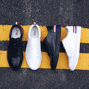 ZHR2019春季新款韩版韩版小白鞋板鞋平底男士休闲鞋真皮男鞋潮鞋