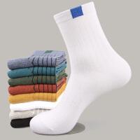 袜子男中筒袜秋冬男士长袜运动日系长筒运动篮球袜ins潮