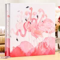 5寸800张相册影集纪念册相册本插页式家庭盒装大容量过塑可放7寸