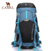 camel骆驼户外登山包双肩45L背包 男女旅游背包野营