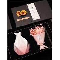 干花花瓶母亲节礼物实用惊喜创意女生适合送妈妈给老师生日小礼品